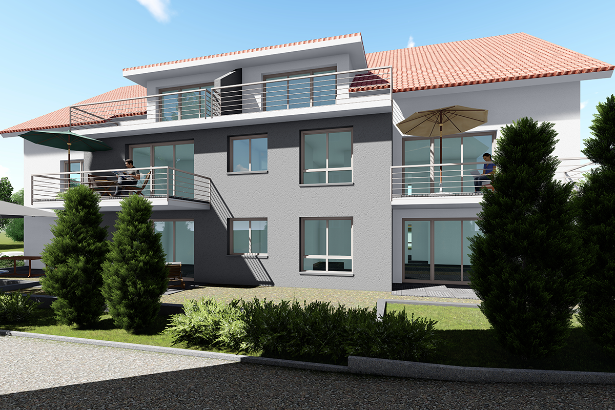 Referenzen SM Ideebau GmbH - Mehrfamilienhaus